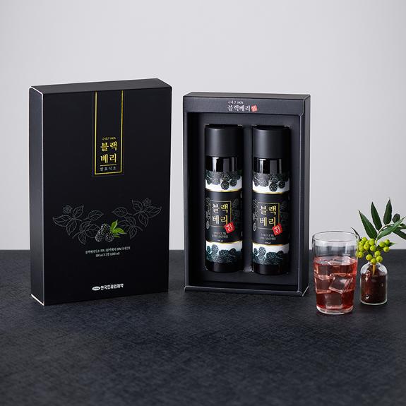 [3+1]블랙베리 발효식초 500ml 세트